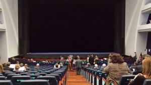 Les Arts: visat del aforo y caja escénica desde el centro