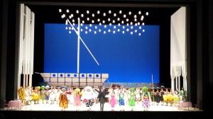 Les Arts: L'Italiana in Algeri - saludo del reparto