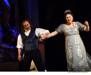Scarpia y Tosca
